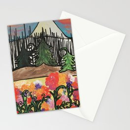 Light Emerges From Char Stationery Cards