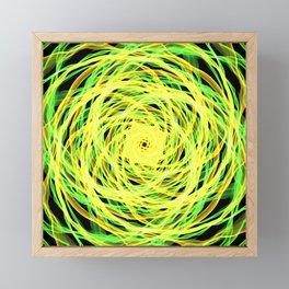 GFTNeon004 , Neon Abstract Framed Mini Art Print