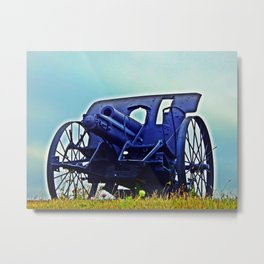 Antique Cannon HD Metal Print