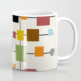 Mid-Century Modern Art 1.3 Coffee Mug