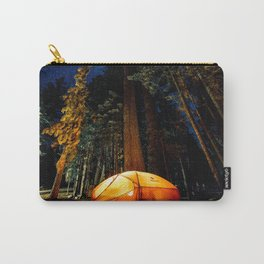 Camping At Night Carry-All Pouch