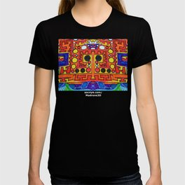 """Alan J Eichman Abstract 0030 """"cosmic crate floating on the infinite sea"""" T-shirt"""