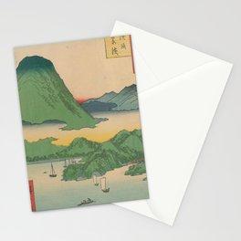 Mountain and Sea Ukiyoe Landscape Stationery Cards