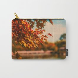 Autumn Scene (Color) Carry-All Pouch