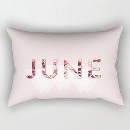 Floral June Rectangular Pillow