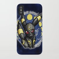 umbreon iPhone & iPod Cases featuring 197 - Umbreon by Lyxy