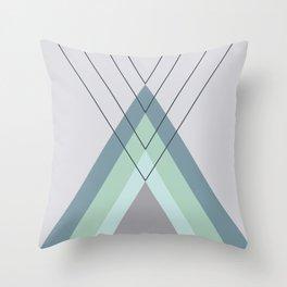 Iglu Mint Throw Pillow