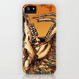 GOLD BEAST iPhone Case