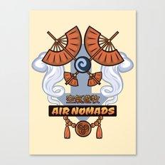 Avatar Nations Series - Air Nomads Canvas Print