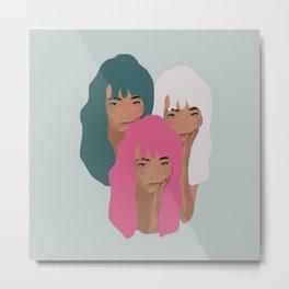 Girls Metal Print