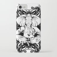 ganesh iPhone & iPod Cases featuring GANESH by Vee Ladwa