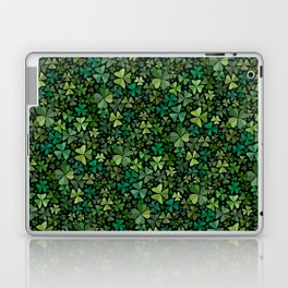 Luck in a Field of Irish Clover Laptop & iPad Skin