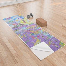 Cosmotortuelogie Yoga Towel