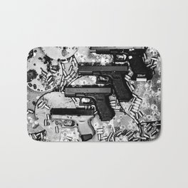 Steel n Ammo Bath Mat