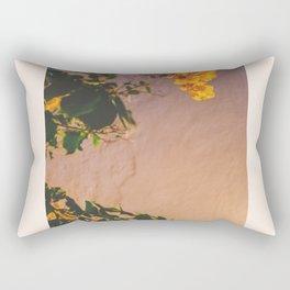 Flores Amarillas Rectangular Pillow