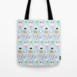 Japanese Kawaii Snacks Tote Bag