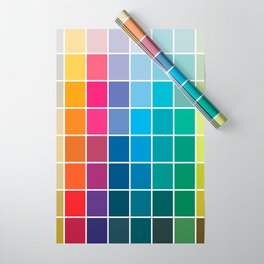 Colorful Soul - All colors together Wrapping Paper