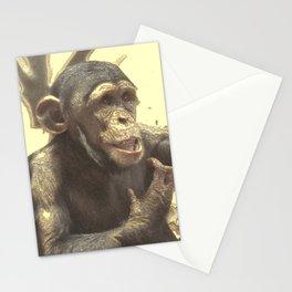 Metal Chimp Stationery Cards
