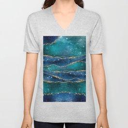 Marble Galaxy #Society6 #Buyart Unisex V-Neck