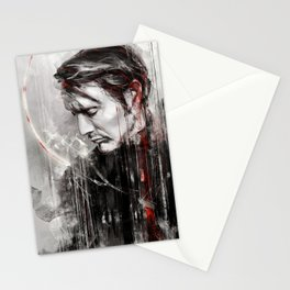 MM speed painting Stationery Cards