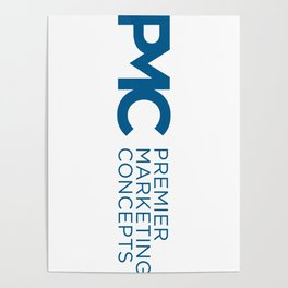 Premier Marketing Concepts Logo Poster
