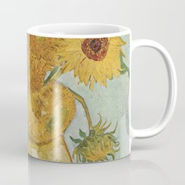 Vase with Twelve Sunflowers, Van Gogh Coffee Mug