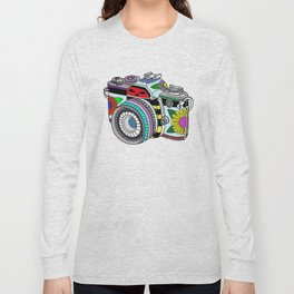 Flower camera Long Sleeve T-shirt