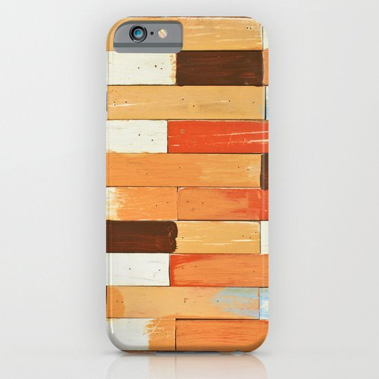 Colorful brick wall iPhone & iPod Case