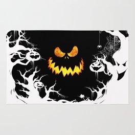 Nightmare Halloween Smile Jack Rug