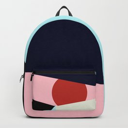 Circle Series - Red Circle No. 1 Backpack
