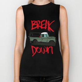 BREAK IT DOWN Biker Tank