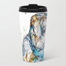 The Sea Glass Owl Travel Mug