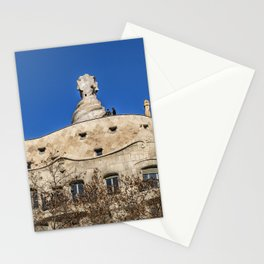Gaudi, La Pedrera Building, Barcelona - Spain Stationery Cards
