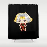 berserk Shower Curtains featuring Dilandau by artwaste