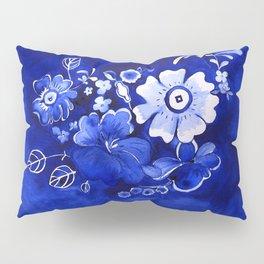 Delft Floral Pillow Sham