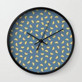 Bowl of falling fruit Wall Clock