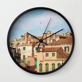 A Venetian View Wall Clock