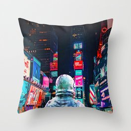 Another Night Throw Pillow