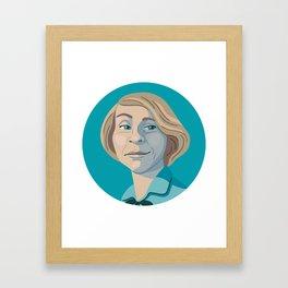 Queer Portrait - Tove Jansson Framed Art Print