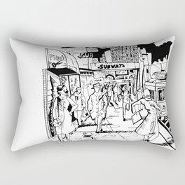 People are strange Rectangular Pillow