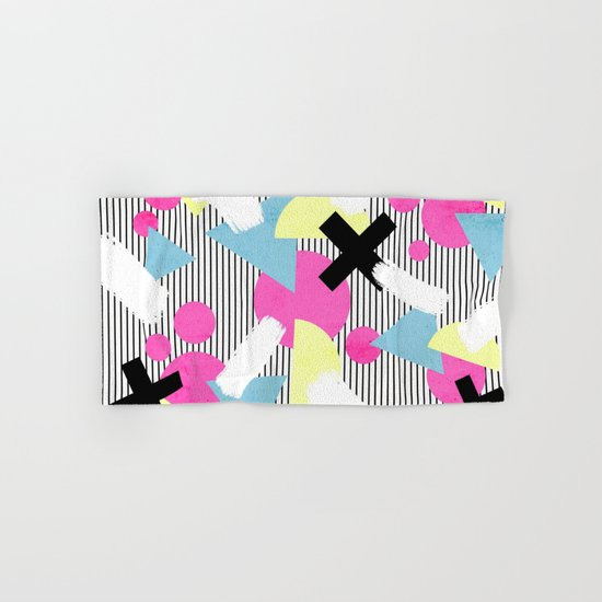 80's Theme Hand & Bath Towel