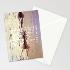 He will come like a raging tide Stationery Cards