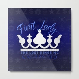 First Lady of the MC Metal Print