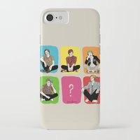 "band iPhone & iPod Cases featuring "" Rainbow band "" by Karu Kara"