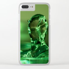 The Water Warrior Clear iPhone Case