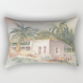 On the Street where you live Rectangular Pillow