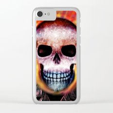 Ghost Rider Clear iPhone Case
