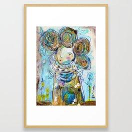 Tell Me Your Dreams Framed Art Print