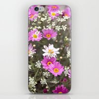 daisy iPhone & iPod Skins featuring Daisy by LebensART Photography
