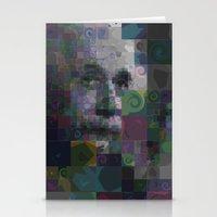 einstein Stationery Cards featuring Einstein by Artstiles